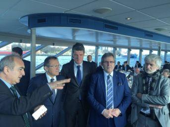 Rotterdam'daki Liman Projesine Üçlü İmza