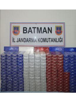 Batman'da 35 Bin Paket Kaçak Sigara Ele Geçirildi