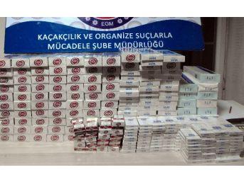 Elazığ'da 6 Bin 480 Paket Kaçak Sigara Ele Geçirildi