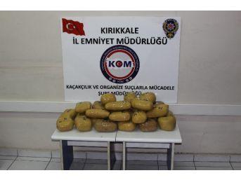 Kırıkkale'de Uyuşturucu Operasyonu