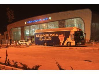 Başbakan Davutoğlu Mardin'den Ayrıldı