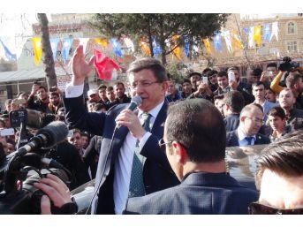 Mardinlilerden Davutoğlu'na Sevgi Seli