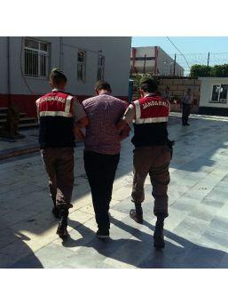 Aranan Zanlı Jandarma Ekiplerince Yakalandı