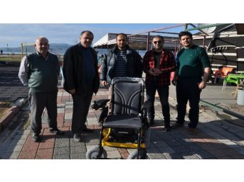 Bandırma Engelliler Derneği'nden Akülü Sandalye