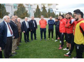 Muhtarlardan Denizlispor'a Moral Ziyareti