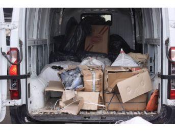 Erzincan'da 18 Bin 400 Paket Kaçak Sigara Ele Geçirildi