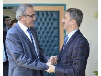 Başkan Karaçoban'dan Başkan Şirin'e Ziyaret