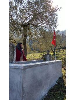 Hüseyin Efe'nin Mezarına Büyükşehir Eli