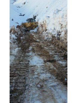 Kar Nedeni İle Kapanan Yollar Ulaşıma Açıldı