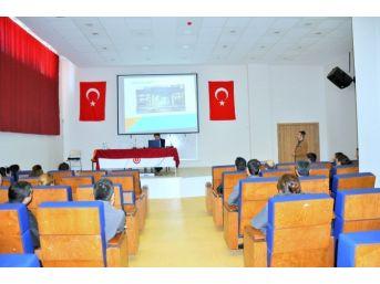 Tunceli Üniversitesi'nde Hizmet İçi Eğitim