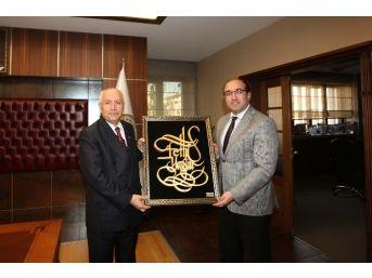 Başkan Yaşar, Hemşehrisi Çöl'ü Ağırladı