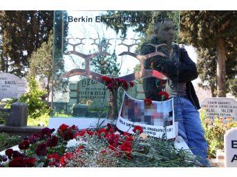 Berkin Elvan 'ın Mezarı Başında Terör Örgütü Propagandası