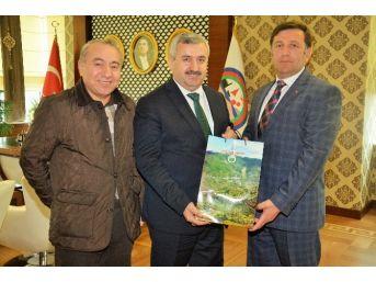 Başkan Baran, Kardeş Şehir Belediye Başkanını Ağırladı