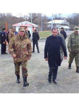 Posof'ta Gürcistan Heyeti İle İkili Görüşmeler Yapıldı