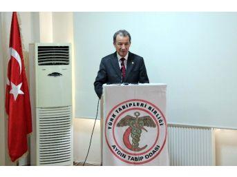 """Dr. Metin Aydın; """"aydın'da Güvenli Gıda Üretme Sorunu Yaşanıyor"""""""