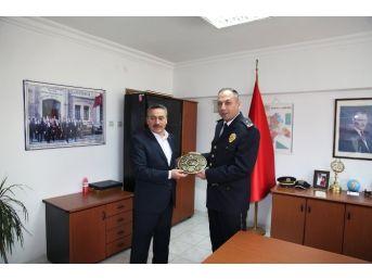 Başkan Tutal'dan Emniyet Personeline Ziyaret
