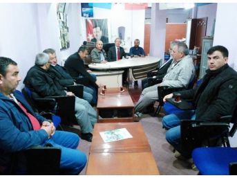 Ak Parti İl Yönetimi'nden Hisarcık İlçe Teşkilatı'na Ziyaret