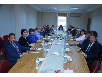 Nüfus Müdürleri Toplantısı Fatsa'da Yapıldı