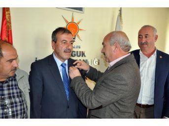 Mhp'li Sorgun Ziraat Odası Başkanı Hacı Tuzlacık Ak Partiye Geçti