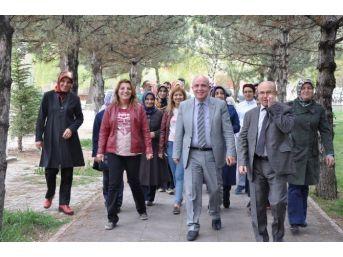 Yerköy Ve Sorgun'da Salıklı Yaşam Yürüyüşü Düzenlendi