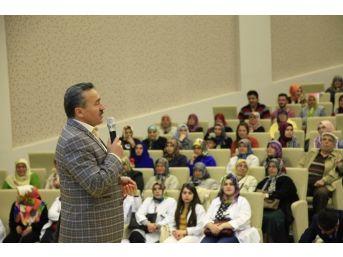 """Başkan Tutal: """"seydişehir Komek Başarılı Çalışmalara İmza Atıyor"""""""