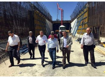 Milletvekili Ahmet Tan, Uğurlugüme Tüneli'ni İnceledi