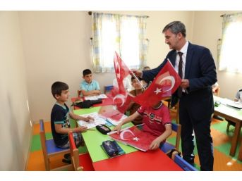 Başkan Şirin'den Selvilitepe Sanat Merkezi Çocuklarına Ziyaret