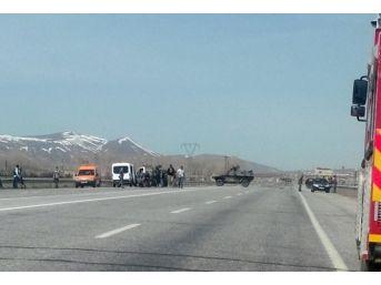 Erciş'te Bomba Yüklü Kamyonet Ele Geçirildi