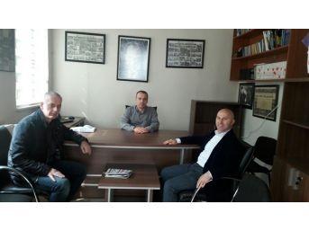 Timef Genel Başkanı Gürel'den Kgd'ye Ziyaret