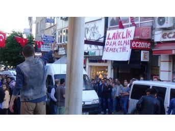 """Bartın'da """"afiş"""" Gerginliği"""