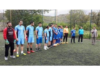 Şehit Polisin İsmi Turnuvasında Yaşatılacak