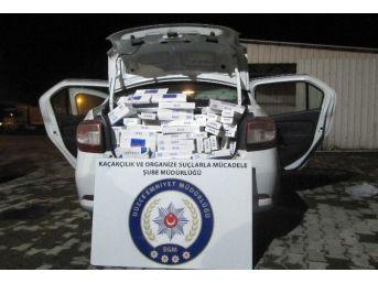 Polisten Kaçak Sigaraya Geçit Yok