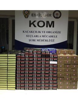 Eskişehir'de Kaçak Ürün Operasyonu