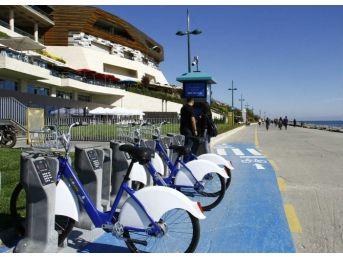 Florya-yeşilköy Hattında 'akıllı Bisiklet' Dönemi