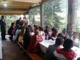 Azdavay'da Teog Öncesi Öğrencilere Motivasyon Yemeği Verildi