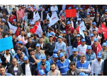 1 Mayısı Petrol-iş İşçileri Davul Zurna İle Kutladı