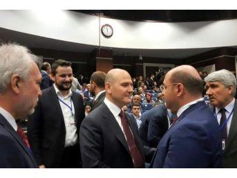 Başkan Ali Çetinbaş, Ankara'da Düzenlenen İl Başkanları Toplantısı'na Katıldı