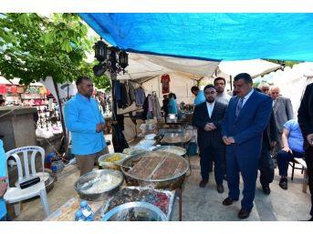 Başkan Gürkan, Kermes Açılışına Katıldı