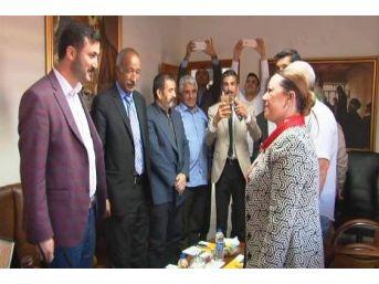 Rektör Adayı Prof. Dr. Aysun Bay Karabulut, Bbp'yi Ziyaret Etti
