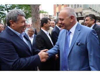 Başkan Ergün, Alaşehirli Muhtarlarla Buluştu