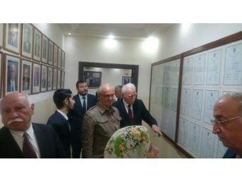 Başkan Yılmaz Ürdün'de Çerkes Derneğini Ziyaret Etti