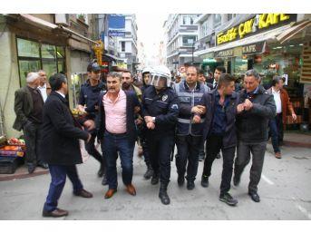 Samsun'da Laiklik Eyleminde Gerginlik: 7 Gözaltı