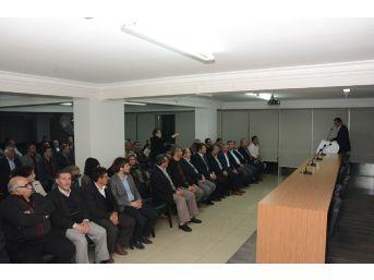 Ak Parti Afyonkarahisar Merkez İlçe Başkanlığı Danışma Meclisi Toplantısı Yapıldı
