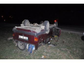 Sandıklı'da Trafik Kazası, 4 Yaralı