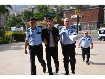 Gürcü Hırsız,yeniden Döndüğü Alanya'da Yakalandı