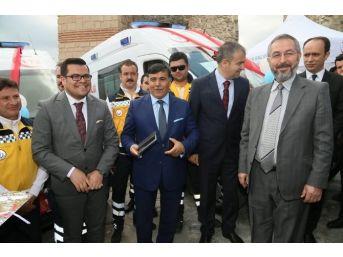 Kütahya'ya 8 Yeni Ambulans Daha