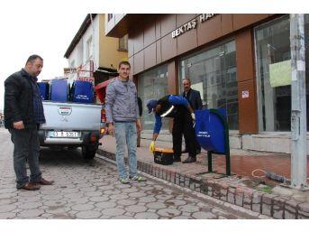 Sorgun Belediyesi Çöp Kovalarını Yeniliyor