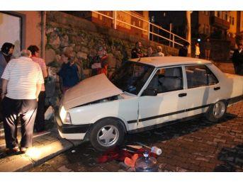 Bayan Sürücü Otomobiliyle Çocukların Arasına Daldı: 5 Yaralı