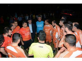 Ak Parti'den Futbol Turnuvası