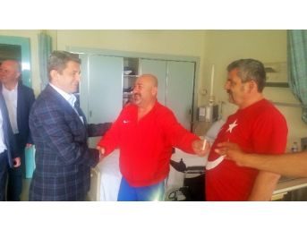 Öz Finans İş Sendikası Genel Başkanı Eroğlu'ndan Gazilere Ziyaret